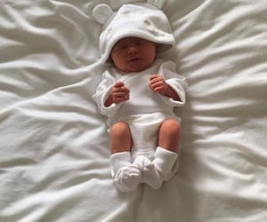 baby and white image