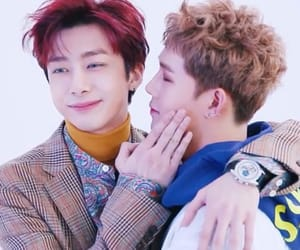 asian boy, hyungwon, and shownu image