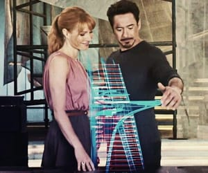 iron man, Avengers, and gwyneth paltrow image