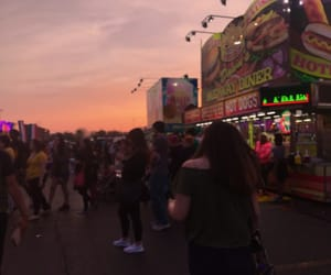 carnival, fair, and night image