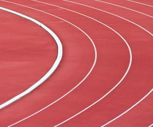 gym, pe, and racetrack image
