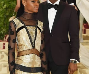 john boyega and letitia wright image
