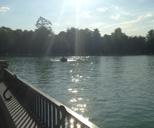lake, madrid, and spain image
