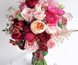 bouquet, colorful, and colours image