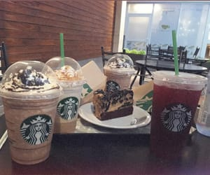 aesthetic, starbucks, and friends image