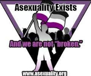 ace, asexual, and family image