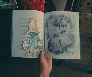 art, bookmark, and bookmarks image