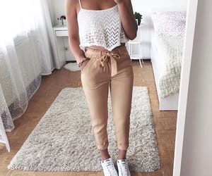 beige, fashion, and asthetic image