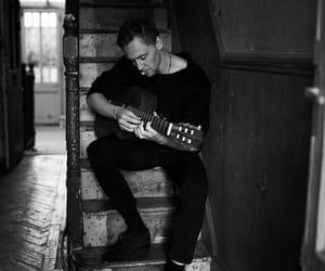 tom hiddleston, guitar, and loki image