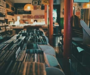 music store, tumblr, and vintage photography image