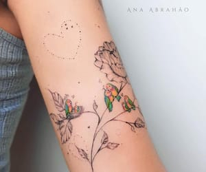 body art, ana abrahao, and inked image