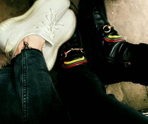 louis tomlinson, Harry Styles, and shoes image