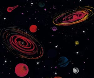 space, galaxy, and planet image