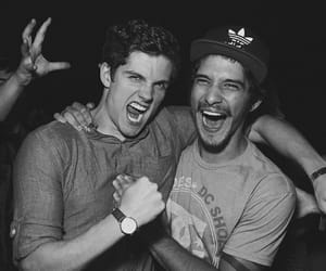 tyler posey, daniel sharman, and teen wolf image