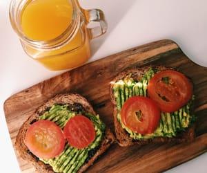 toast and vegan image