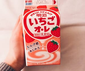 japan, japanese sweets, and milk image