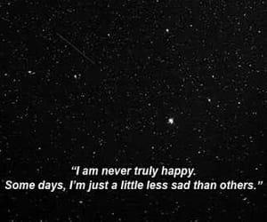 black, quote, and stars image