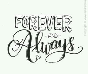 always, handlettering, and text image