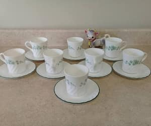 coffee cups, etsy, and pyrex image