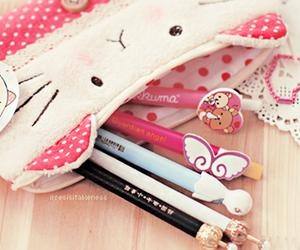 kawaii, cute, and pen image