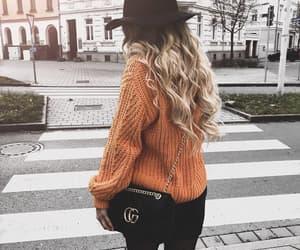 bag, fashion, and hat image