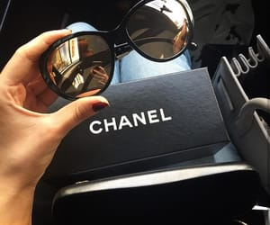 chanel, outfit, and sunglasses image