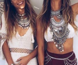 boho, coachella, and dress image