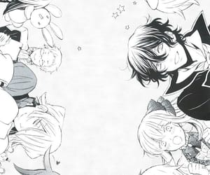pandora hearts, gilbert nightray, and oz vessalius image