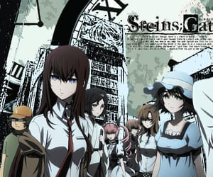 Action, drama, and steins;gate image