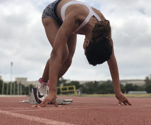 athlete, athletics, and fitness image