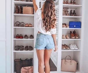 closet, details, and hair image