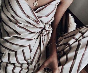 beautiful, fashion, and striped image