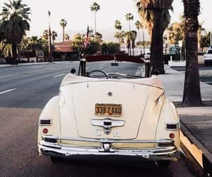car, vintage, and summer image