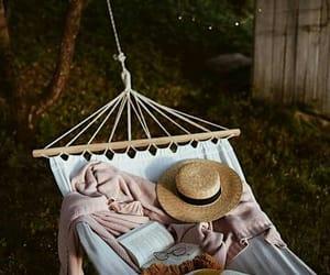 book and hammock image