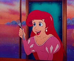 ariel, disney, and movies image