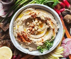 arabian, food, and hummus image