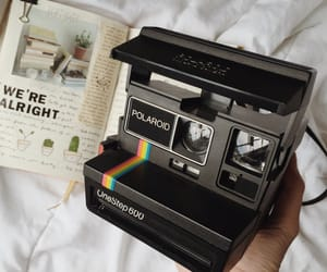 polaroid, camera, and vintage image