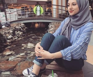 hijab and modest image