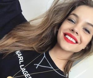 actress, smile, and barbara palvin image