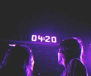 420, purple, and aesthetic image