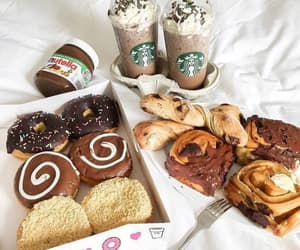 food, starbucks, and sweet image
