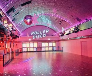 vintage, pink, and disco image