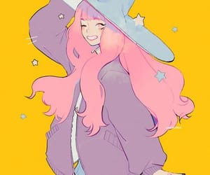 beautiful, pink, and witch image