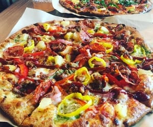 aesthetics, food, and pizza image