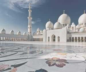 mosque, travel, and architecture image
