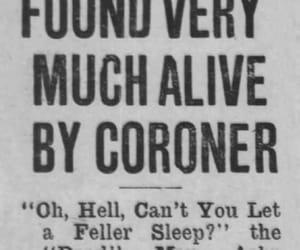 funny, newspaper, and sleep image