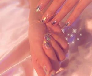 aesthetic, angelic, and glitter image