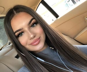 site models, beautiful lady, and makeup inspo image