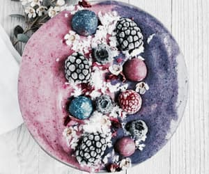 vegan and smoothie bowl image