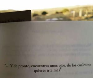 amor, frases, and ojos image